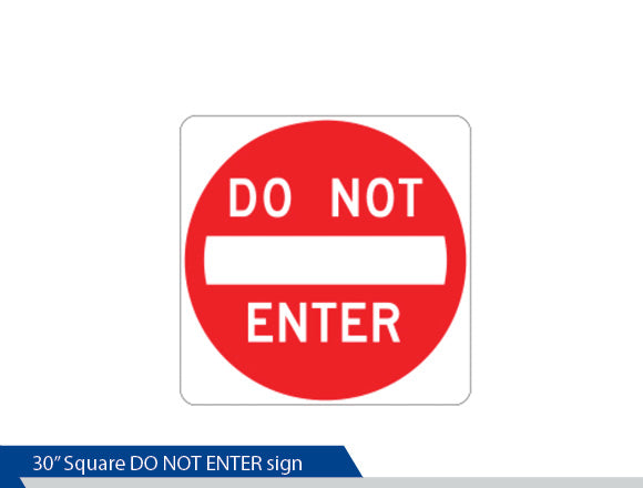 Do Not Enter Sign, High Intensity Vinyl, Engineer Grade, Traffic Sign, Decorative Signage, Personalized Signs, Street Sign On Square Pole, Custom Street Signs, Decorative Street Signs, Brandon Industries Sign, Best Quality Street Sign Decorative Signage Systems, Street Signs, Decorative Signs