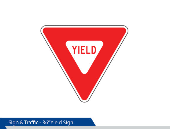 Yield Sign, High Intensity Vinyl, Engineer Grade, Traffic Sign, Decorative Signage, Personalized Signs, Street Sign On Square Pole, Custom Street Signs, Decorative Street Signs, Brandon Industries Sign, Best Quality Street Sign Decorative Signage Systems, Street Signs, Decorative Signs, Decorative Signage Systems,