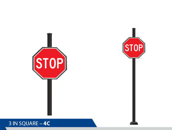 Stop Sign, Traffic Sign, Decorative Signage, Personalized Signs, Street Sign On Square Pole, Custom Street Signs, Decorative Street Signs, Brandon Industries Sign, Best Quality Street Sign, Decorative Signage Systems, Street Signs