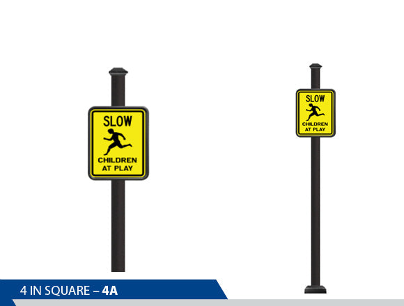 Slow Children are Playing, Traffic Sign, Decorative Signage, Personalized Signs, Street Sign On Square Pole, Custom Street Signs, Decorative Street Signs, Brandon Industries Sign, Best Quality Street Sign, Decorative Signage Systems, Street Signs,