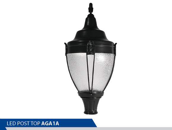 Best Post Top, LED Post Top, Antique Street Lights, Acrylic Post Top, Prismatic Globes, Decorative, Antique Lamp Post, LED Post DLC, Good Street Lamp Brands, Best Led Street Lamp Energy Saving Post Top