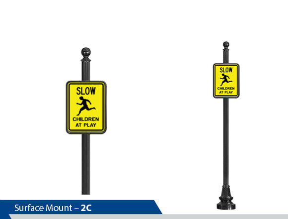 Slow Children are Playing, Traffic Sign, Decorative Signage, Personalized Signs, Street Sign On Square Pole, Custom Street Signs, Decorative Street Signs, Brandon Industries Sign, Best Quality Street Sign, Decorative Signage Systems, Street Signs