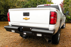 Heavy Duty Pipe Rear Bumpers