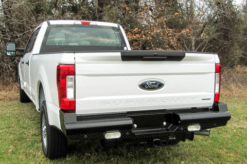 Heavy Duty Pipe Rear Bumper Ford F250 F350 2017-2019
