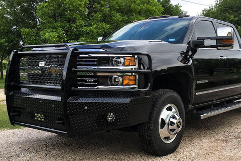 Cowboy Front Bumper Chevy 2500 3500 2015-2019