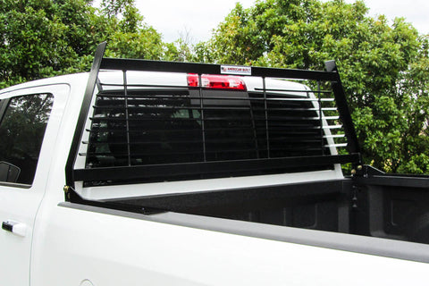 Black Contractor Headache Rack- Ford F250 F350 1999-2019
