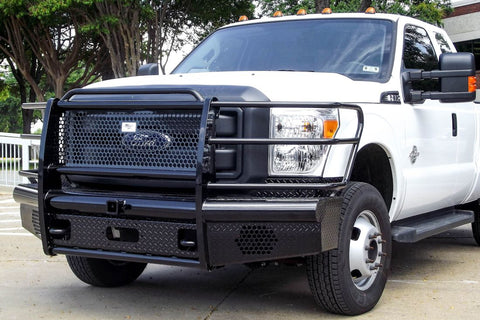 Heavy Duty Pipe Front Bumper Ford F250 F350 2011-2016