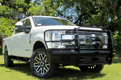 Heavy Duty Pipe Front Bumper Ford F250 F350 2017-2019