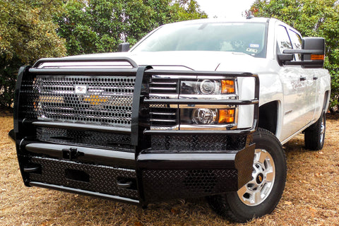 Heavy Duty Pipe Front Bumper Chevy 2500 3500 2015-2019