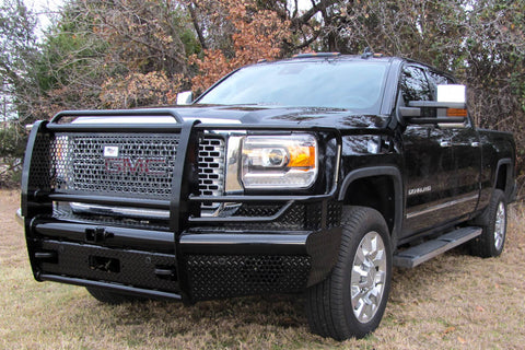 Heavy Duty Pipe Front Bumper GMC 2500 3500 2015-2019