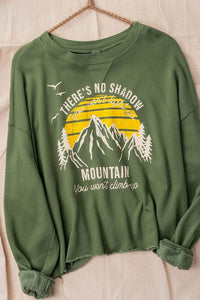 """No Shadow You Won't Light Up"" Pullover"