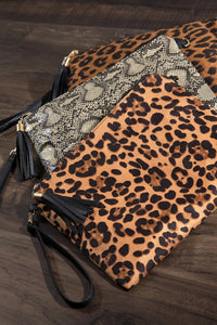Leopard Clutch - 2 colors
