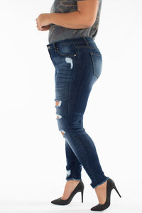 Plus Size Instant Crush Jeans (size XL & 2XL)