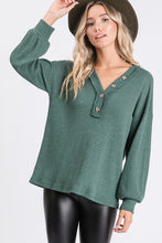 Ensley Waffle Knit Top