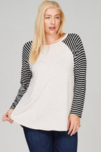 Elbow Patch Long-Sleeve Tunic Top