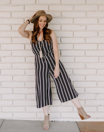 Skylar Jumpsuit (size L in stock)