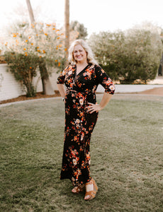 Plus Size Grace Maxi Dress
