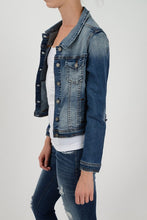 KanCan Cropped Jean Jacket