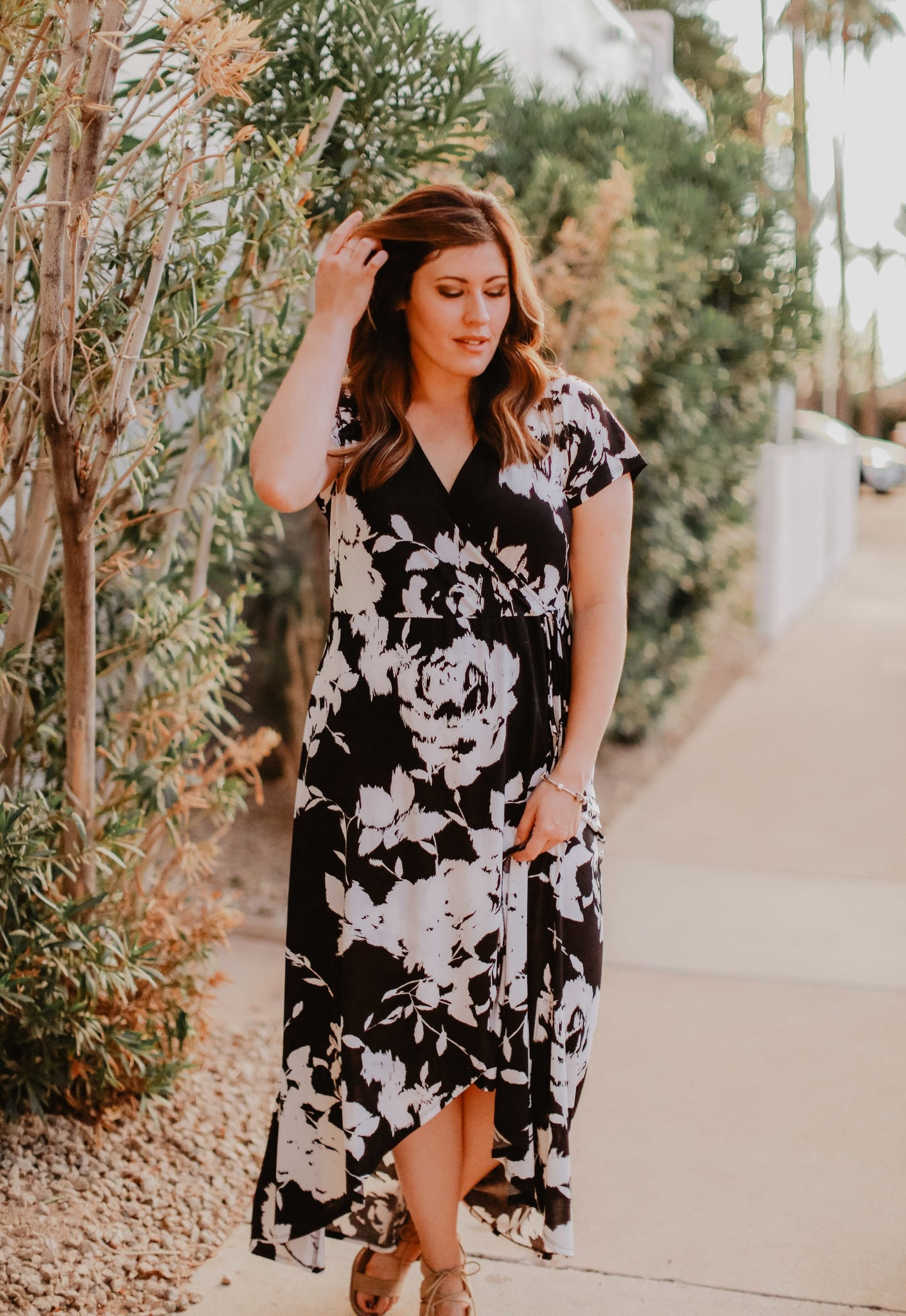 Plus Size Catherine Dress (size 1X, 2X) – Blooming Cactus Boutique