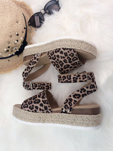 """Walking on a Dream"" Espadrille Ankle-Strap Sandals"