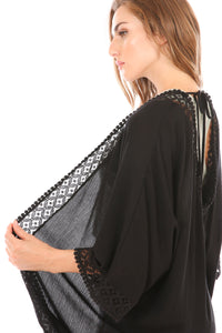 Callie Kimono & Coverup - Black or White