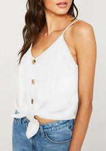 RESTOCKED! Hayden Linen Tank - 4 colors
