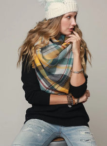 Blanket Scarf - 3 color options
