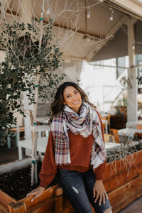 Blanket Scarf - 4 color options