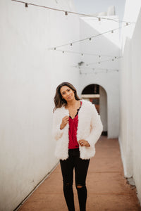 Faux Fur Jacket (with pockets!) - 2 colors