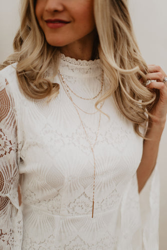 Hailey Necklace + Earrings Set