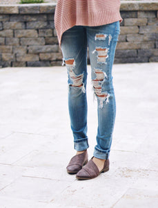 Perfect Ripped Skinny Jeans