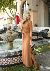 Polo Shirt Maxi Dress