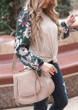 Taupe Boho Saddle Bag