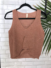 Dani Sleeveless Knit Top (4 colors)