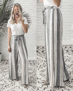 The Perfect Striped Pants