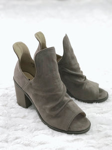 Kristin Booties - Taupe or Black