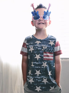 Kids' Stars & Stripes Tee (size 10)