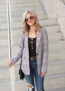 Trendy Chic Blazer- 2 color options