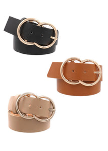 Double Ring Belt - 3 colors
