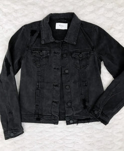 KanCan Faded Black Jean Jacket (size XS & S)