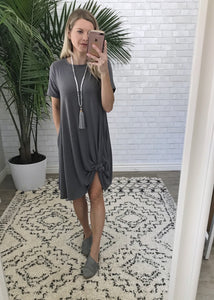 Everyday Dress - Navy or Dusty Rose (size 1XL)