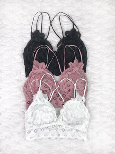 Lace Bralette - 6 colors