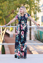 Sadie Maxi Dress - Black or Ivory (size XL, 3XL)