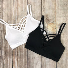 Criss-Cross Bralette - 7 colors!