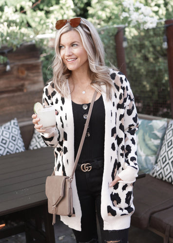 Wishlist Leopard Cardigan