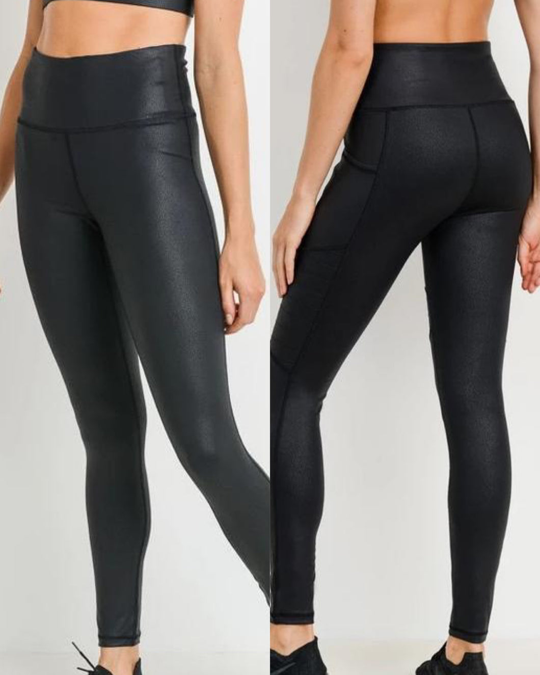 Faux Leather Leggings (XS & 2XL in stock)