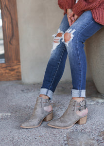 "Aria ""Boho Western"" Booties (sizes from 6 - 7.5 in stock)"