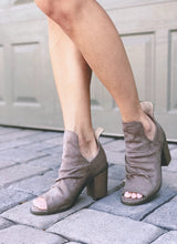 Kristin Booties - Taupe or Black (size 9-11 in stock)