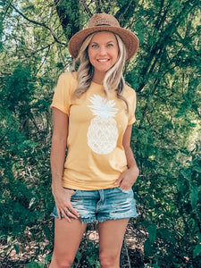 Pineapple Graphic Tee