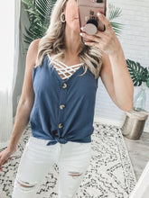 Hayden Linen Tank - 4 colors